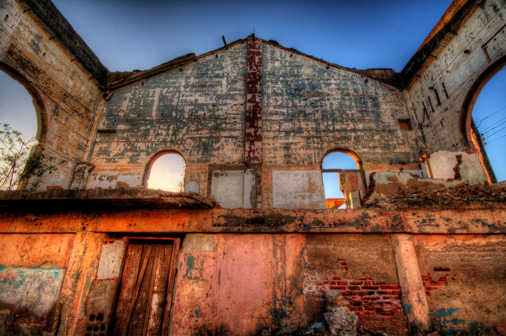 HDR of A Ruin
